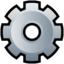 64x64px size png icon of Gear