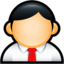 64x64px size png icon of User Administrator Red