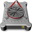 64x64px size png icon of Device External HD