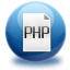 64x64px size png icon of file PHP