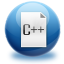 64x64px size png icon of file c plus plus