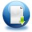 64x64px size png icon of file download