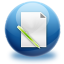 64x64px size png icon of file edit