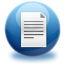 64x64px size png icon of file text
