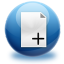 64x64px size png icon of files add