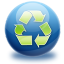 64x64px size png icon of recycle