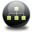 64x64px size png icon of sitemap