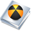 64x64px size png icon of burn folder
