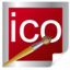 64x64px size png icon of Ico design