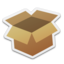 64x64px size png icon of Package