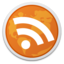64x64px size png icon of RSS Reader