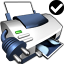64x64px size png icon of Printer Default Network