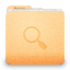 64x64px size png icon of folder saved search