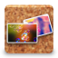 64x64px size png icon of galeria