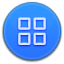 64x64px size png icon of App Drawer