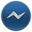 64x64px size png icon of Messenger
