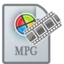 64x64px size png icon of MovieTypeMPG