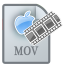 64x64px size png icon of MovieTypeMOV