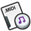 64x64px size png icon of Midi sequence