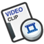 64x64px size png icon of Video cilp