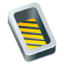 64x64px size png icon of Box open yellow