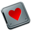 64x64px size png icon of Folder burned love