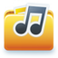 64x64px size png icon of Audio documents