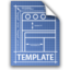 64x64px size png icon of template