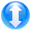 64x64px size png icon of torrent