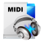 64x64px size png icon of filetype midi