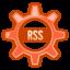 64x64px size png icon of Akregator