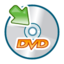 64x64px size png icon of Dvd mount