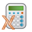 64x64px size png icon of X calc