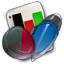 64x64px size png icon of App Office Presentation