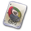 64x64px size png icon of Filetype avi