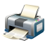 64x64px size png icon of Print