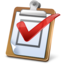64x64px size png icon of Task Report Regular