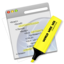 64x64px size png icon of Validate Yellow