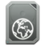 64x64px size png icon of drive idisk offline