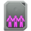 64x64px size png icon of drive sharepoint online