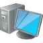 64x64px size png icon of 1 Normal Computer