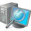 64x64px size png icon of computer search