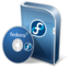 64x64px size png icon of Fedora disc