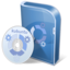 64x64px size png icon of Kubuntu disc