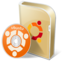 64x64px size png icon of Ubuntu disc