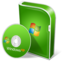 64x64px size png icon of Win XP family disc
