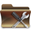 64x64px size png icon of folder utilities