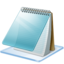 64x64px size png icon of Windows 7 editor