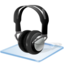 64x64px size png icon of Windows 7 headphone