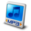 64x64px size png icon of file mp3